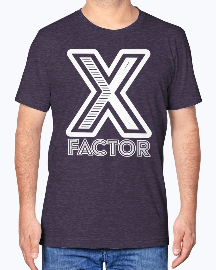 """X Factor"" Premium Soft Touch Tee (Inverted)"