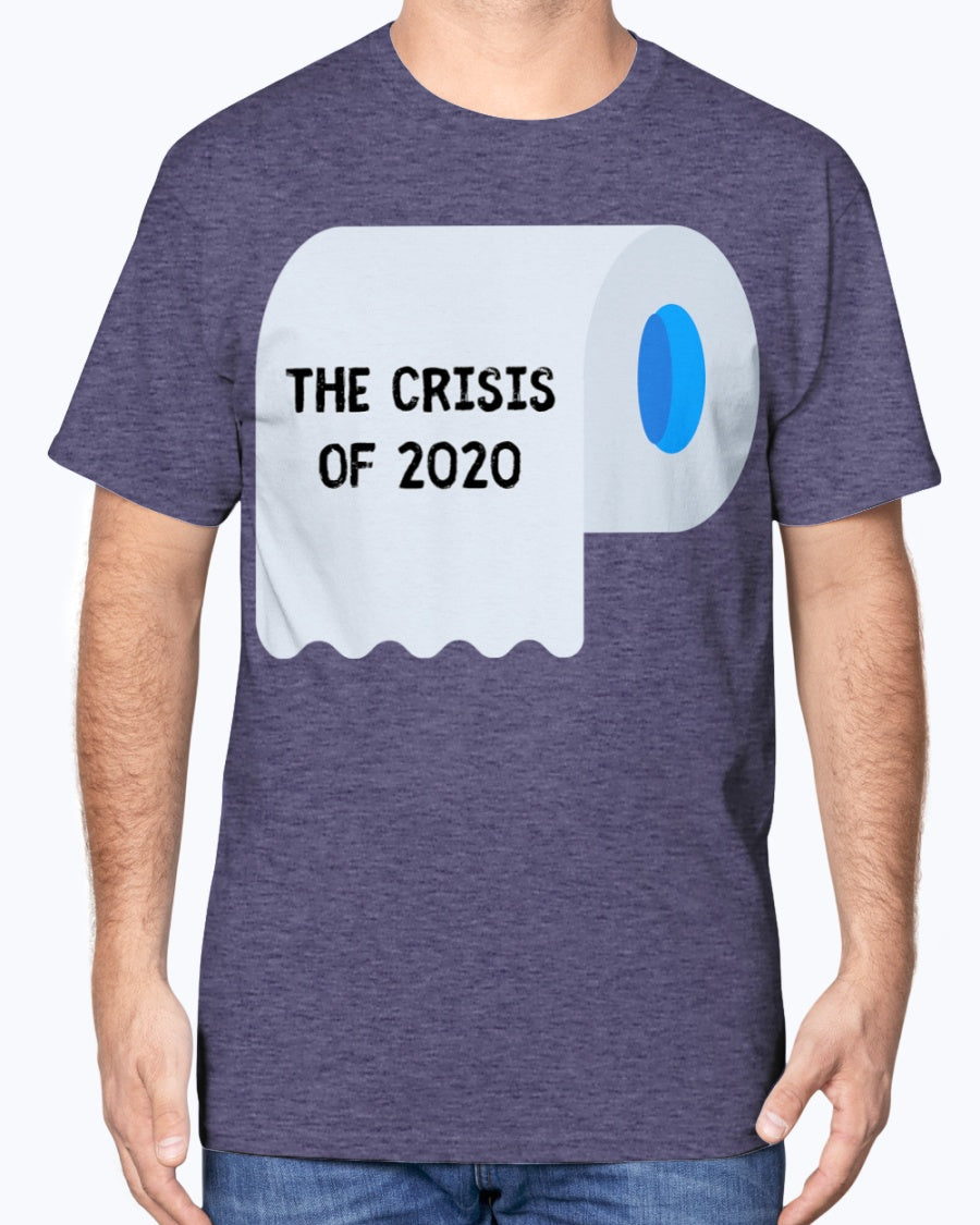 """TP Crisis"" Cotton Tee (Inverted)"