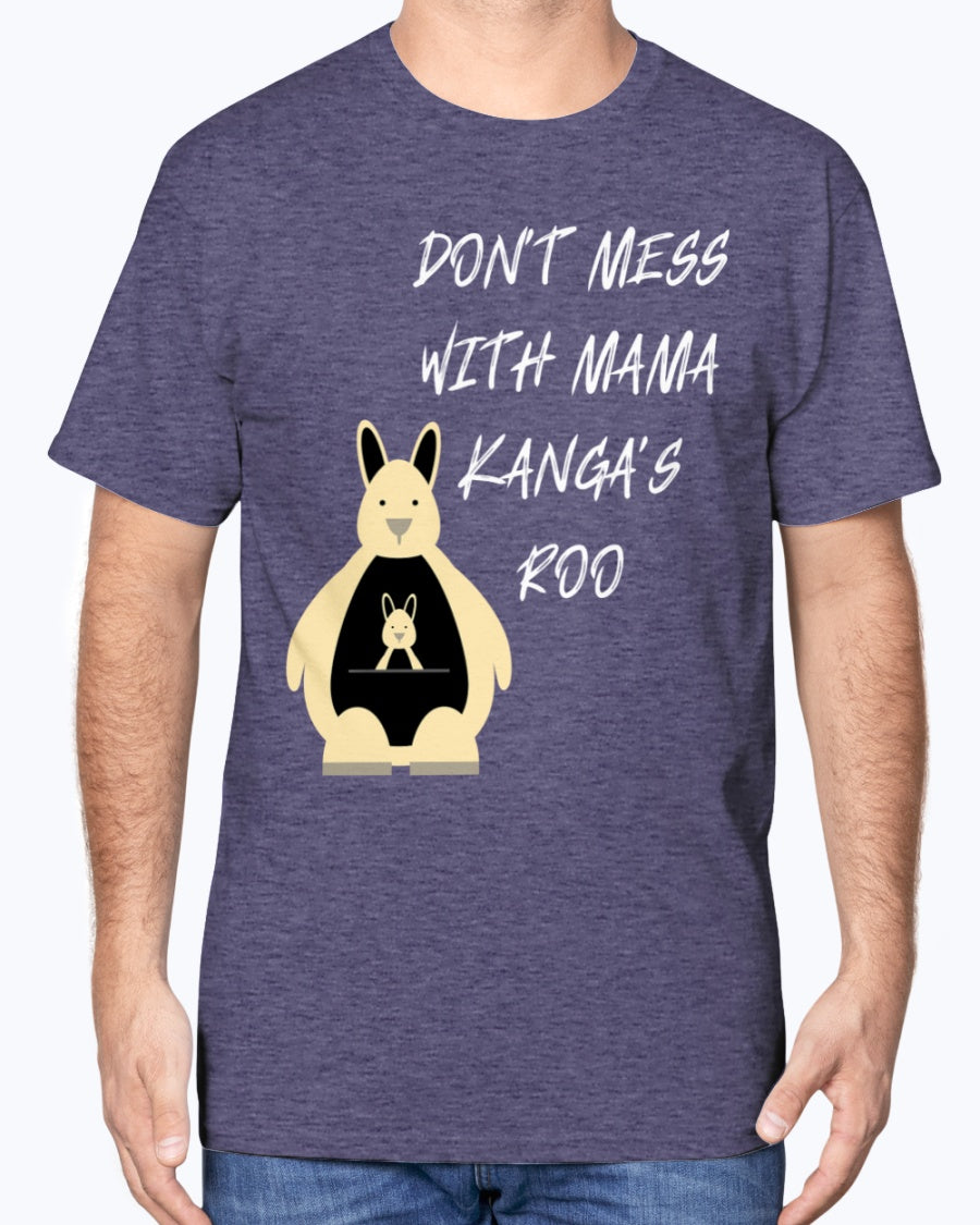 """Mama's Roo"" Cotton Tee (Inverted)"