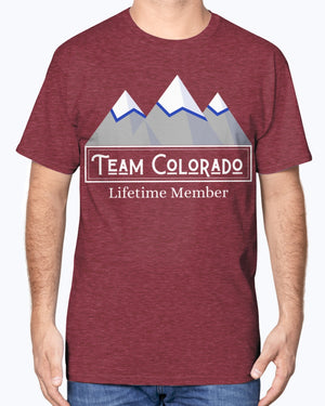 """Team Colorado"" Cotton Tee (Inverted)"