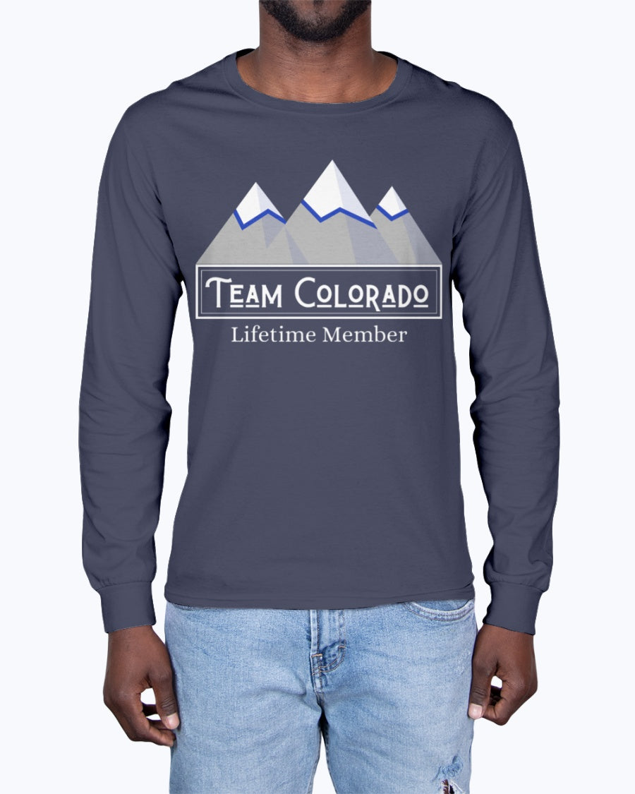 """Team Colorado"" Premium Long Sleeve (Inverted)"