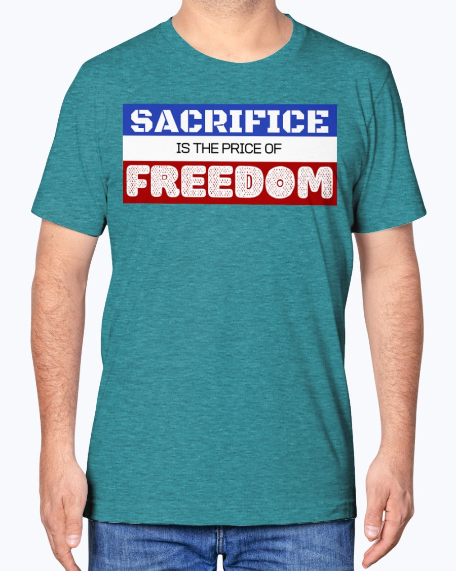 """Price of Freedom"" Premium Soft Touch Tee"