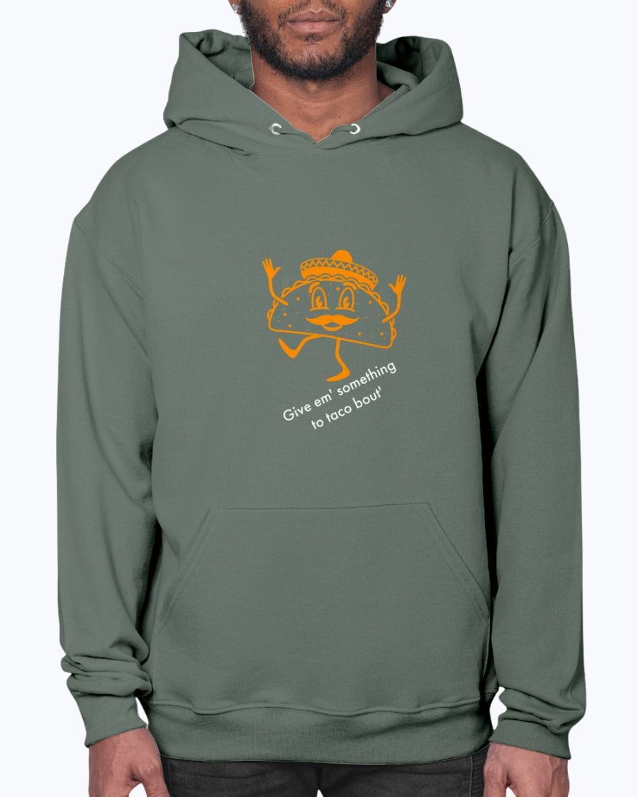 """Taco bout'"" Hoodie (Inverted)"