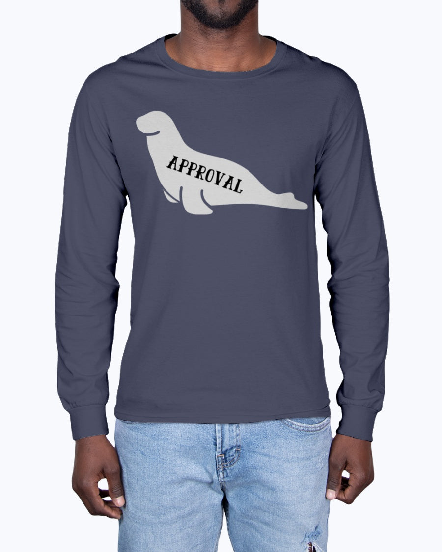 """Seal of Approval"" Premium Long Sleeve (Inverted)"