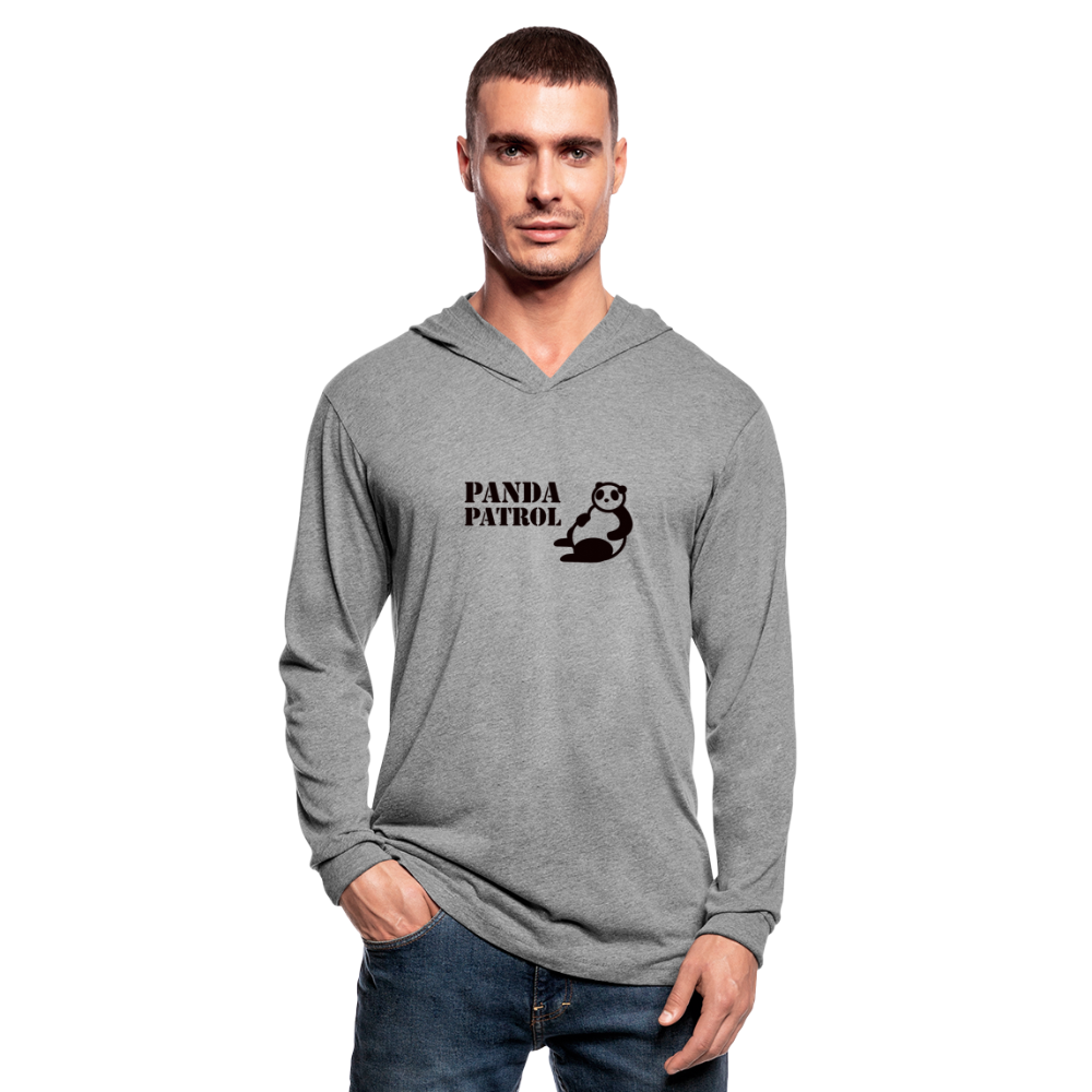 Panda PatrolUnisex Hoodie Shirt - heather gray