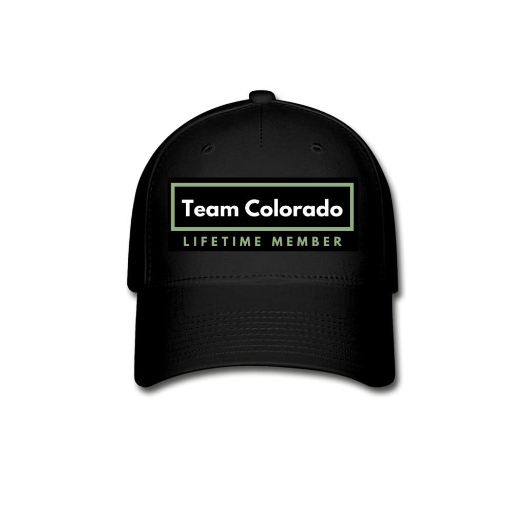 Team Colorado Baseball Cap - black