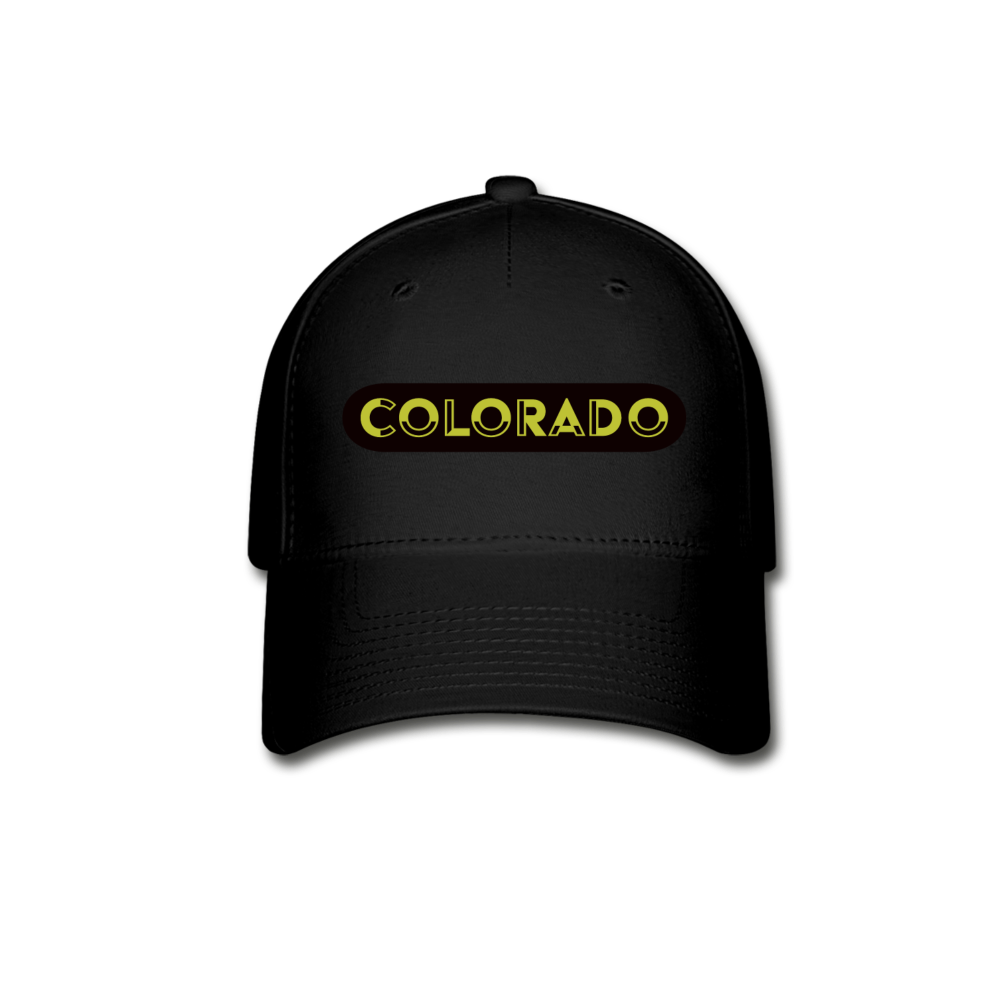 COLORado Baseball Cap - black