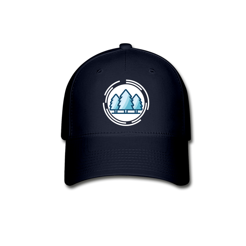 Mountain Blue Baseball Cap - navy