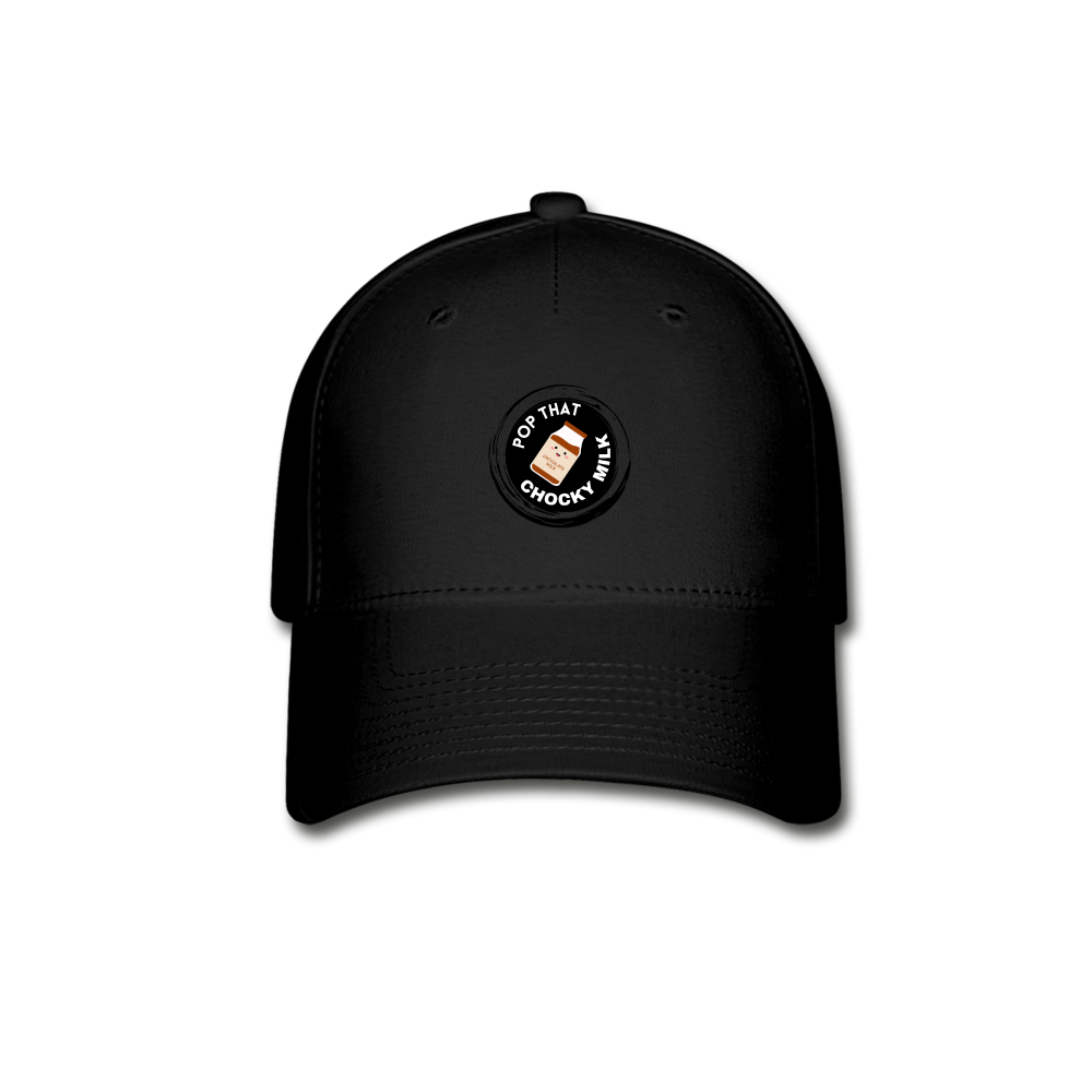 Chocky Milk Baseball Cap - black