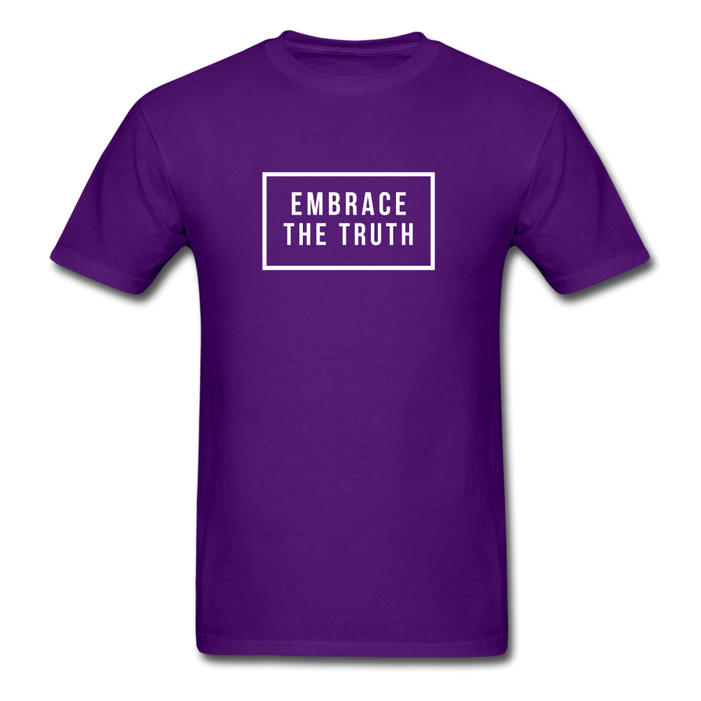 Embrace the truth Unisex Classic T-Shirt - purple
