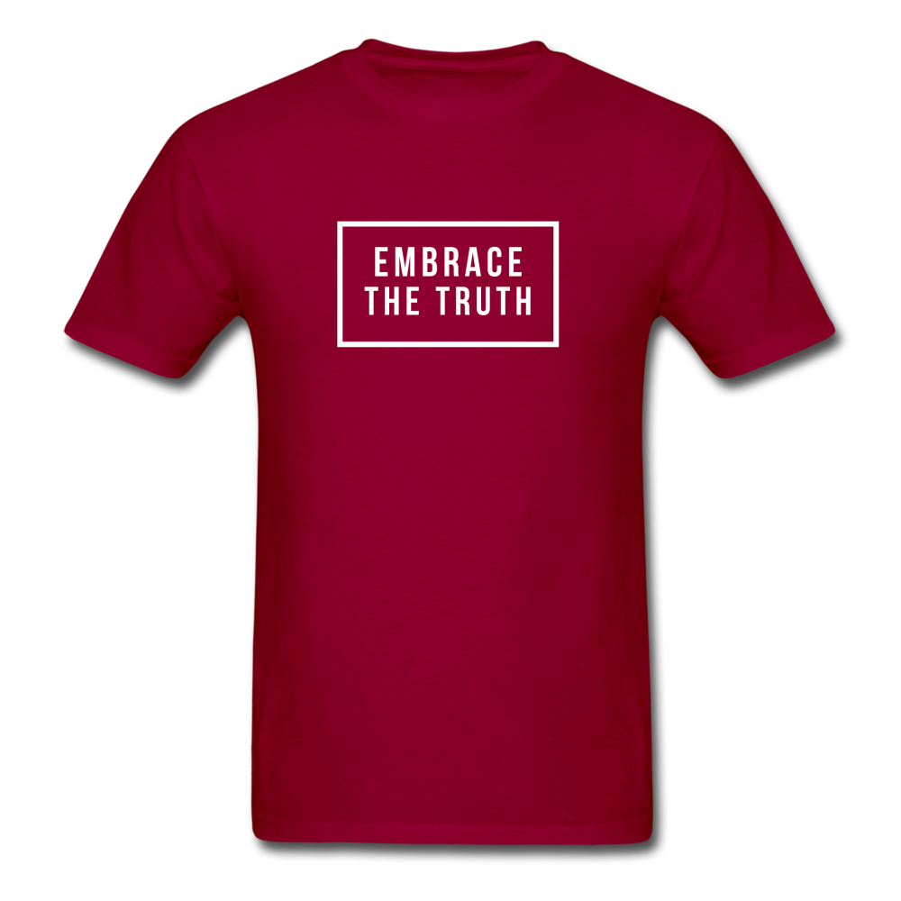 Embrace the truth Unisex Classic T-Shirt - dark red