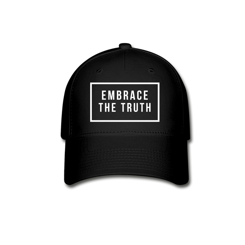Embrace the truth Baseball Cap - black
