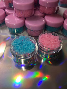 2 for $5 Cotton Candy lip scrubs