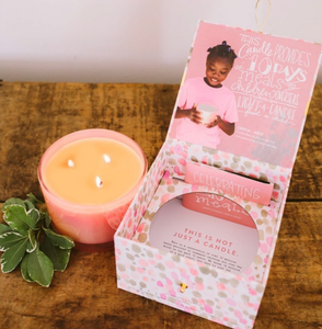 Sweet Grace Collection 10 Million Meals Celebration Candle