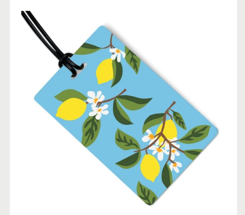 Lemon Tree Bag Tag