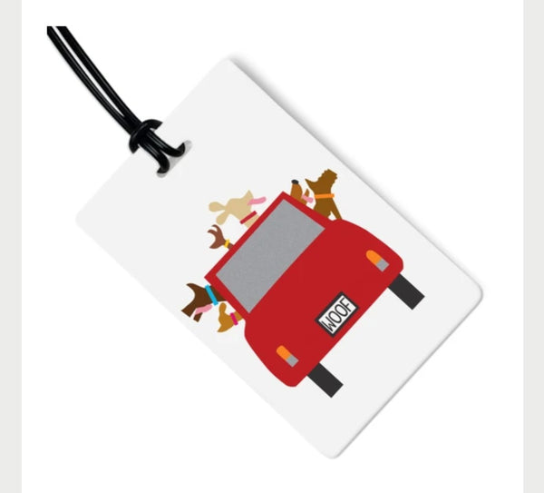 Woofmobile Bag Tag