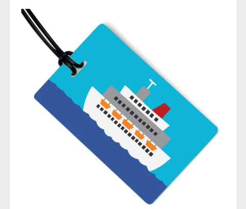 Cruise Ship Bag Tag