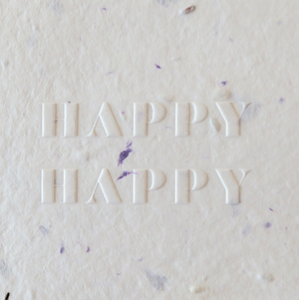 Happy Happy Card 5x5