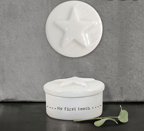 Star My First Tooth Box