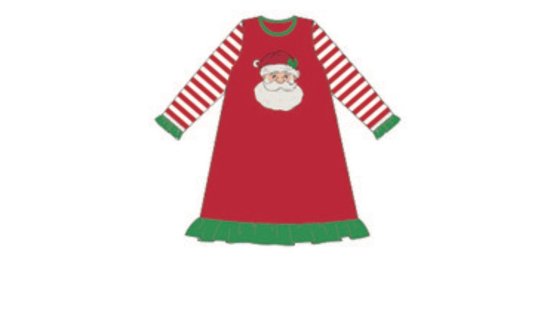 Kids Saint Nick Red Gown