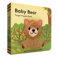 Baby Bear Finger Puppet Book