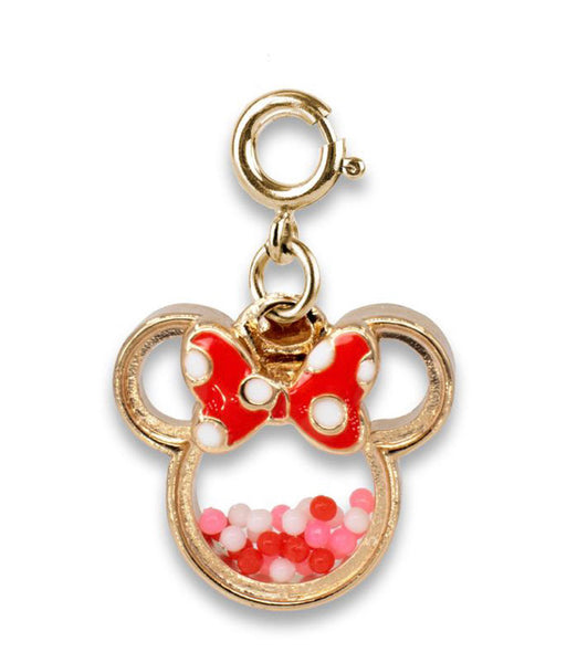 Gold Minnie Mouse Charm