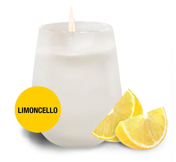 Limoncello Candle by Sempre Beve