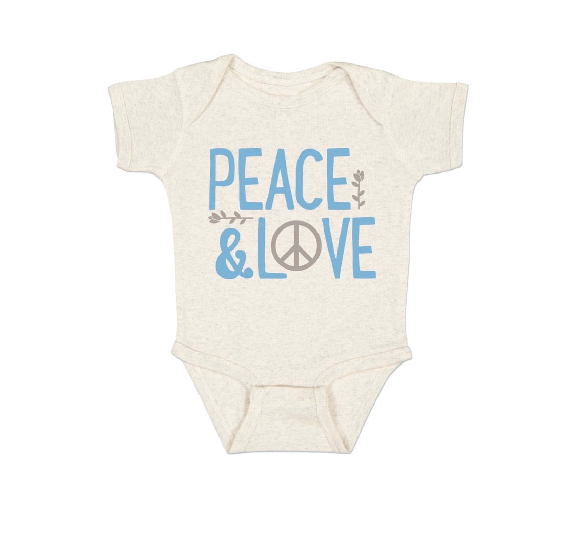Peace & Love Onesie