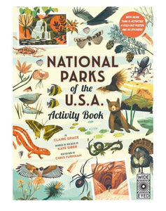 National Parks USA Activity Book