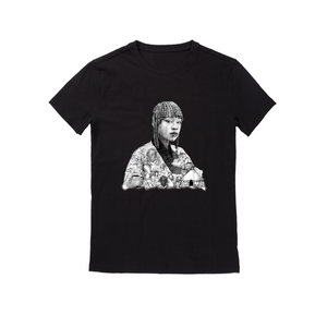 Black Illustrated_Short Sleeve_TShirt
