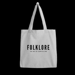 Slogan Tote Bag_White
