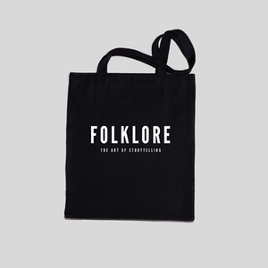Slogan Tote Bag_Black