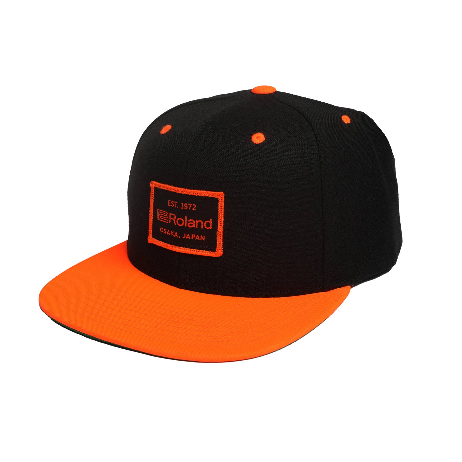 Roland EST. 1972 - Snapback Hat - Orange