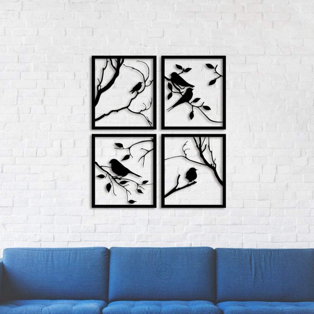 Tree Branches With Lovely Birds