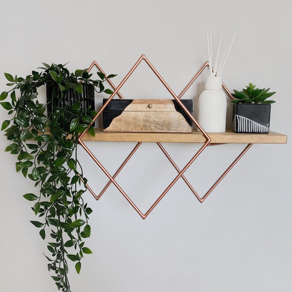 Trinity Diamond Shelf