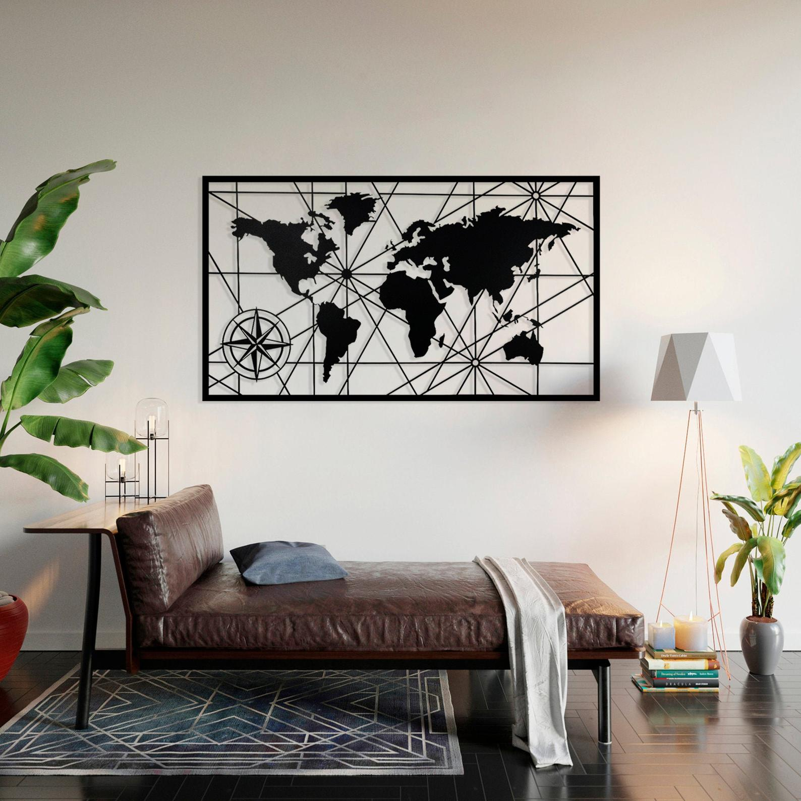 World Map (Frame)