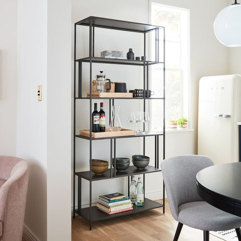 Grande Wide Bookcase