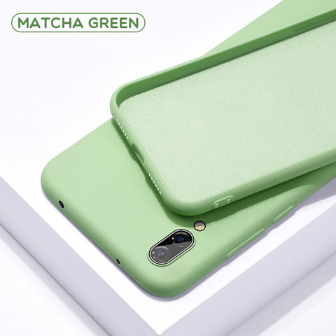Soft Green Silicone Phone Case for Huawei - Case Monkey