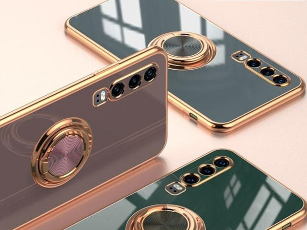 Luxury Pop Socket Silicone Case For Huawei Phones - Case Monkey