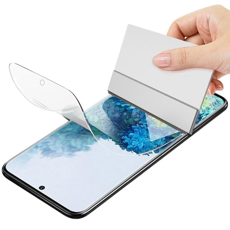 3 x Hydrogel Film Screen Protector For Samsung - Case Monkey