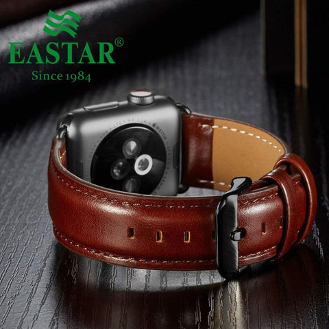 Genuine Leather Watch Band For Apple Watch - Case Monkey