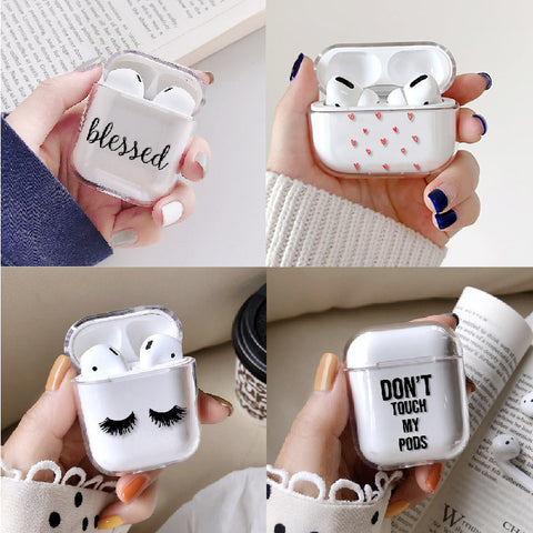 Hard Transparent Protective Cover Airpods Case - Case Monkey