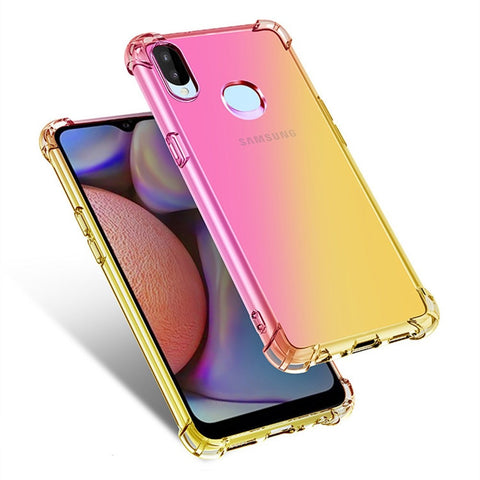 Pink & Gold Gradient Phone Case For Samsung - Case Monkey