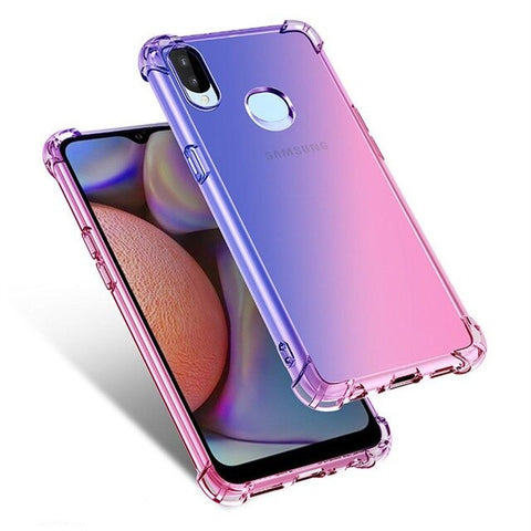 Pink & Blue Gradient Phone Case For Samsung - Case Monkey