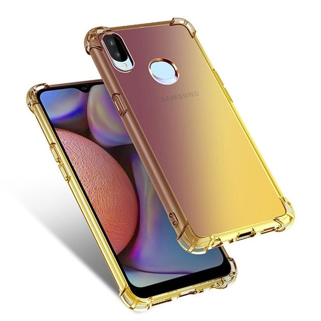 Gold Gradient Phone Case For Samsung - Case Monkey