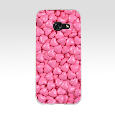 Love Heart Silicone Samsung Case - Case Monkey