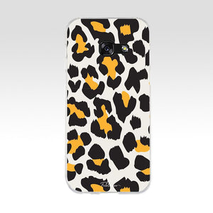 Large Leopard Print Phone Case - Case Monkey
