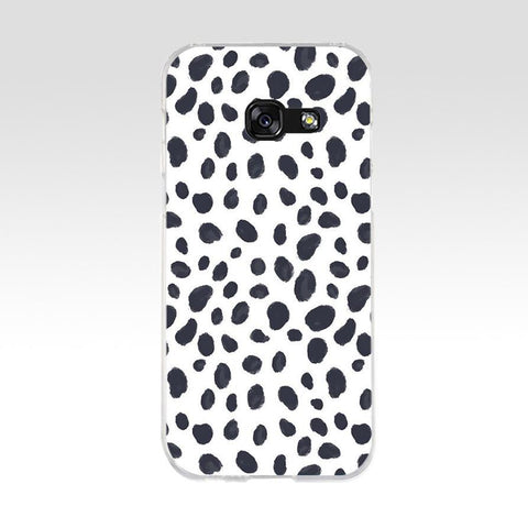 Black Animal Print Phone Case - Case Monkey