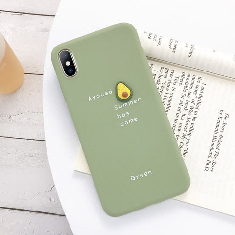3D Fruit Avocado Phone Case - Case Monkey