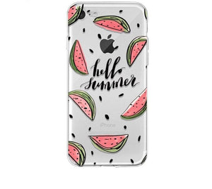 Hello Summer Soft silicone Phone Case - Case Monkey